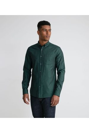 Preston Field Camisa Manga Longa Casual Oxford | | | EG I