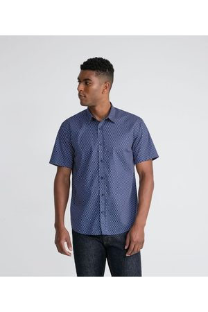 Marfinno Homem Camisa Manga Curta - Camisa Manga Curta em Algodão Estampa Póa | | | EG II
