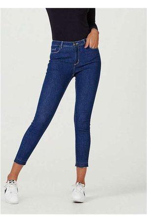 Hering Mulher Calça Jeans Feminina Cigarrete