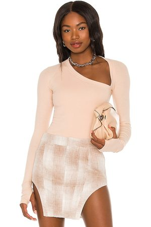 Alix NYC Stratton Bodysuit in Nude. - size L (also in XS, S, M)