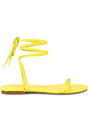 LPA Caterina Sandal in Yellow. - size 10 (also in 6.5, 7, 7.5, 8, 8.5, 9.5)