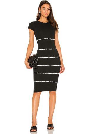 AllSaints Niko Tie Dye Stripe Dress in . - size 00 (also in 0, 2, 4, 6, 8, 10)