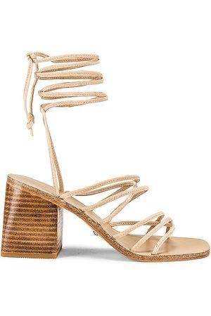 Raye Cross Sandal in Nude. - size 7 (also in 5.5, 6.5, 7.5, 8, 8.5, 9, 9.5)