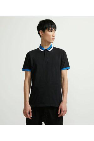 Request Camisa Polo Manga Curta com Detalhes Contrastantes | | | M