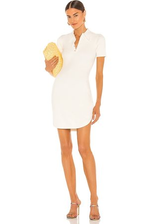 JoosTricot Polo Dress in White. - size L (also in M, S, XS)