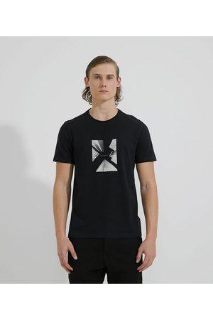 Request Camiseta Manga Curta em Algodão Estampado Cidade Unlinear       G