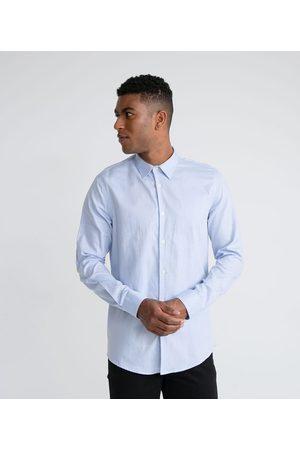 Preston Field Homem Camisa Formal - Camisa Social Classic Texturizada       03