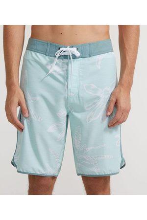 Ripping Homem Short de Banho & Sunga - Bermuda de Banho com Cós Fixo Estampa Floral | | | 38