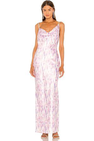 Michael Costello X REVOLVE Blaise Maxi Dress in Purple,Pink. - size L (also in M, S, XL, XS, XXS)