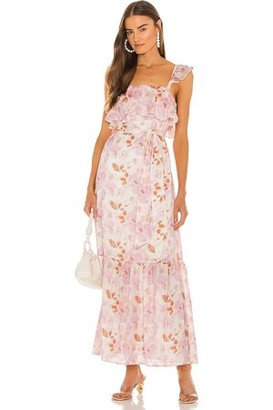 House of Harlow X Sofia Richie Evelyne Maxi Dress in Pink. - size L (also in M, S, XL, XS, XXS)