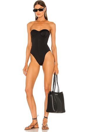 Norma Kamali Corset Mio One Piece in . - size L (also in M, S, XS)