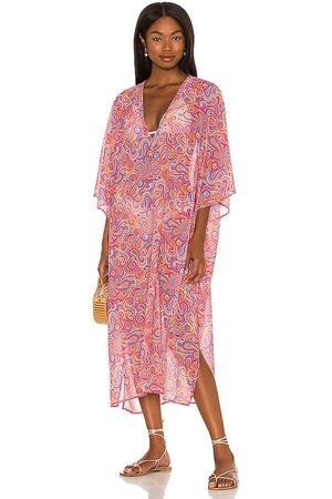House of Harlow X Sofia Richie Emilia Caftan in Pink. - size L (also in M, S, XL, XS, XXS)