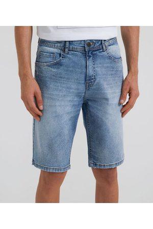 Marfinno Homem Bermuda - Bermuda Jeans sem Estampa | | | 42
