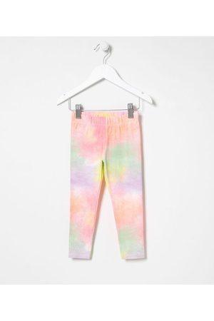 Póim (1 a 5 anos) Criança Gravata - Calça Legging Infantil em Cotton Tie Dye - Tam 1 a 5 anos     Multicores   01