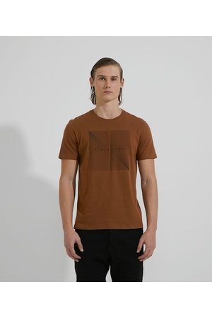 Request Homem Camisolas de Manga Curta - Camiseta Manga Curta em Algodão Estampa Dimensions       M