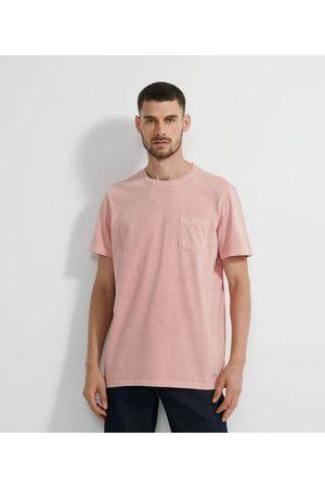 Marfinno Camiseta Manga Curta em Algodão Lavada com Bolso | | | M