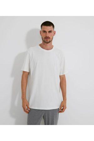 Viko Homem Camisolas de Manga Curta - Camiseta Manga Curta em Algodão sem Estampa | | | P