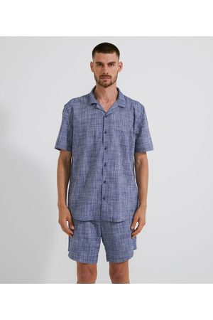 Viko Homem Pijamas - Pijama Americano com Botões | | | GG