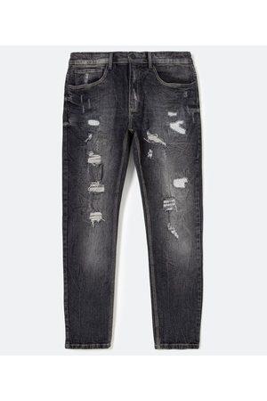 Blue Steel Homem Calça Skinny - Calça Jeans Skinny Super Destroyed       44
