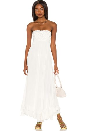 Free People Adella Corset Maxi Dress in . - size L (also in M, S, XL, XS)