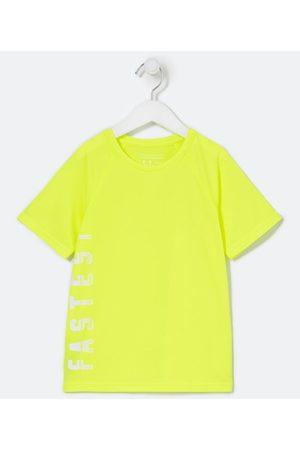 Fuzarka Camiseta Infantil Esportivo Neon Estampa Fastest - Tam 5 a 14 anos       7-8