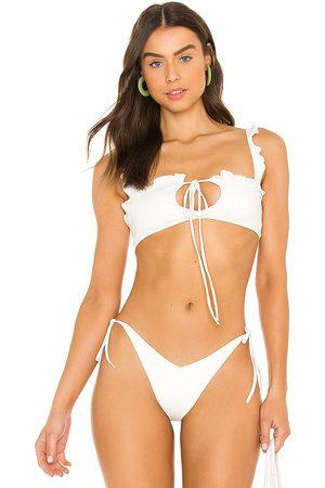 Frankies Bikinis Mackenzie Bikini Top in . - size L (also in M, S, XS)