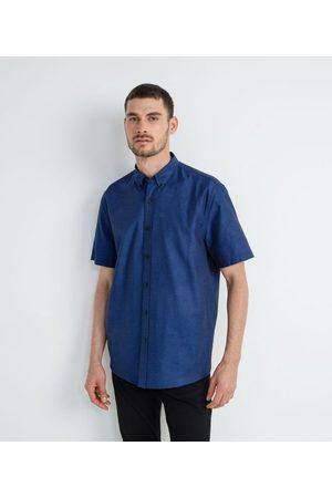 Preston Field Camisa Manga Curta Comfort em Oxford | | | M