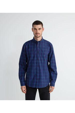 Marfinno Camisa Manga Longa Slim com Estampa Xadrez | | | GG
