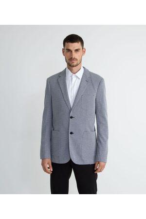Preston Field Homem Blazer - Blazer Casual com Textura | | médio | G