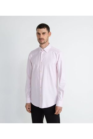 Preston Field Homem Camisa Formal - Camisa Social Classic Texturizada       06
