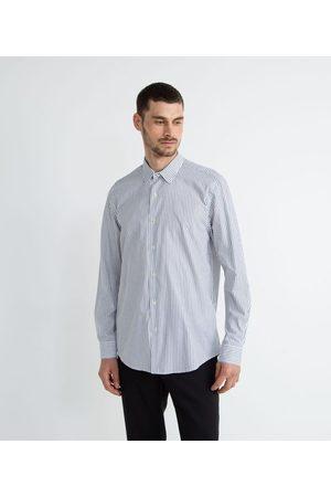 Preston Field Homem Camisa Formal - Camisa Social Classic Listrada     Multicores   02