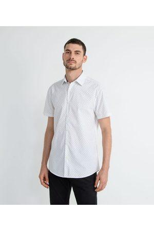 Marfinno Homem Camisa Manga Curta - Camisa Manga Curta Estampa Mini Ícones       EG I