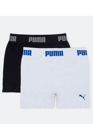 PUMA Homem Cueca Boxer - Kit de 2 Cuecas Boxer sem Costura | | Multicores | G