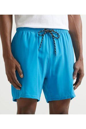 Marfinno Homem Short de Banho & Sunga - Bermuda de Banho sem Estampa | | | G