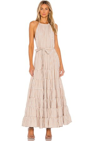 sundress Neptune Maxi Dress in Brown. - size L (also in XS)