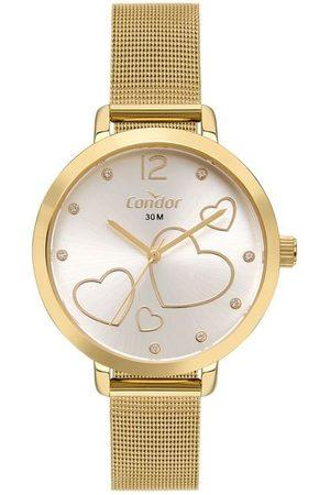 Condor Mulher Relógios - Kit Relógio com Caixa em Metal COPC21AEECK4D     claro   U