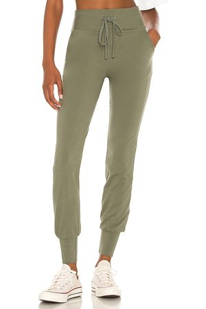 Lovers and Friends Slim Jogger Pant in Olive. - size L (also in M, S, XS, XXS)
