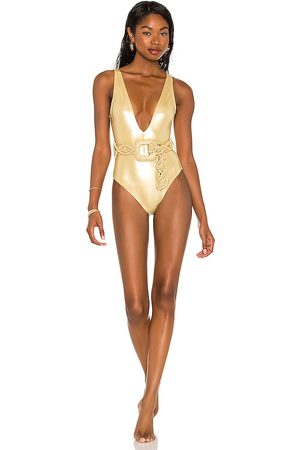 Normaillot Francesca One-Piece in Yellow. - size L (also in M, S, XS)