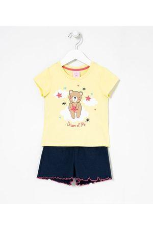 Cubus Criança Pijamas - Pijama Infantil Curto Estampa de Ursinho - Tam 1 a 4 anos | | | 04