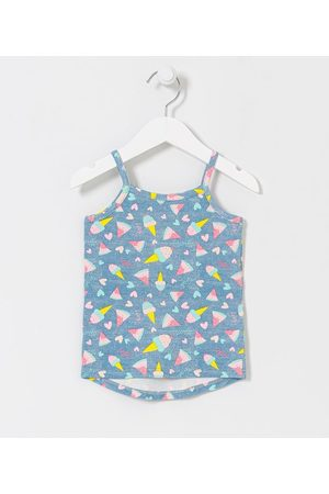 Póim (1 a 5 anos) Criança Blusa - Blusa Infantil em Cotton Estampa de Frutas e Sorvete - Tam 1 a 5 anos       05