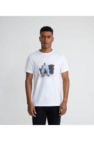 Blue Steel Camiseta Manga Curta com Estampa Notorious B.I.G       G
