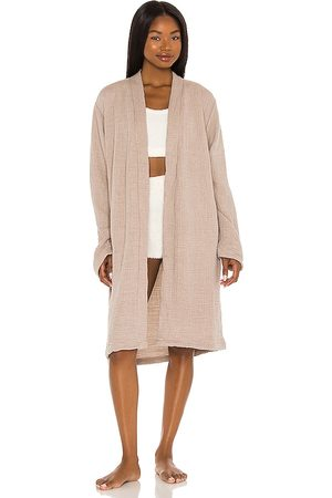 House No. 23 Alaia Robe in Taupe. - size L/XL (also in S/M)