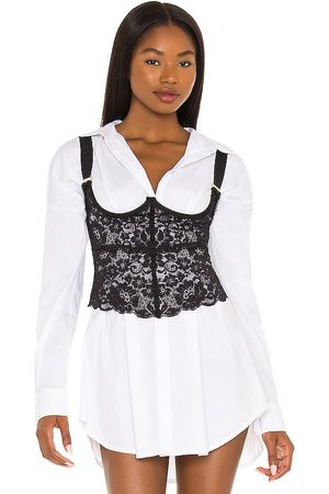 HAH Bust A Move Bustier in Black. - size L (also in M, S, XS)