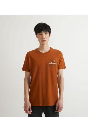 Request Camiseta Manga Curta em Algodão Bordado Escritório       G