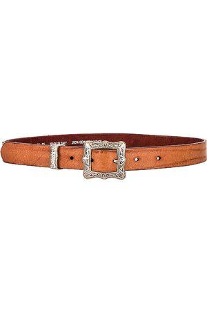 Golden Goose Frame Belt in Cognac. - size 75 (also in 80, 85, 90)