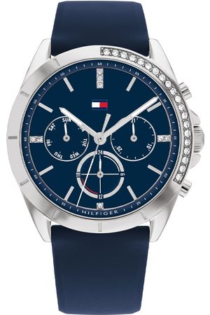 Vivara Mulher Relógios - Relógio Tommy Hilfiger Feminino Aço Borracha Azul 1782389