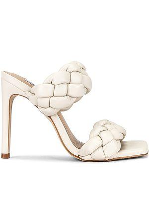 Steve Madden Kenley Sandal in White. - size 10 (also in 6, 6.5, 7, 7.5, 8, 8.5, 9, 9.5)