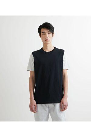 Request Camiseta com Manga Curta Contrastante       G