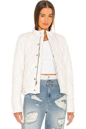 RTA Louisa Faux Leather Jacket in . - size L (also in M, S, XS)