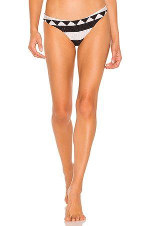 Silvia Tcherassi Sezze Bikini Bottom in Black. - size M (also in S, XS)